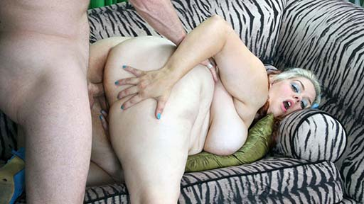 Fat Bitch Enjoys Needy Cock Of A Guy