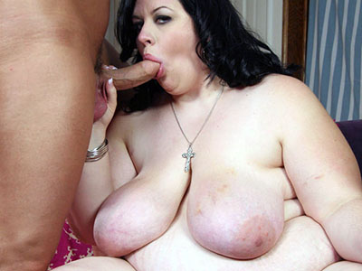 BBW Deseree Gives a Blowjob
